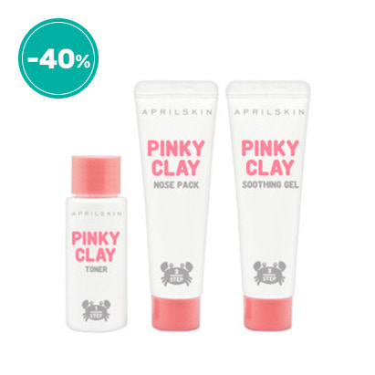 Pinkyclay Nose Pack