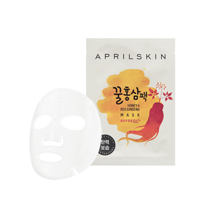 Honey & Red Ginseng Mask (1box)