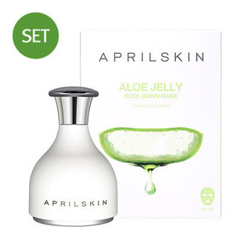 Aloe Jelly Cool Down Mask + Relaxing Cooling Stick SET