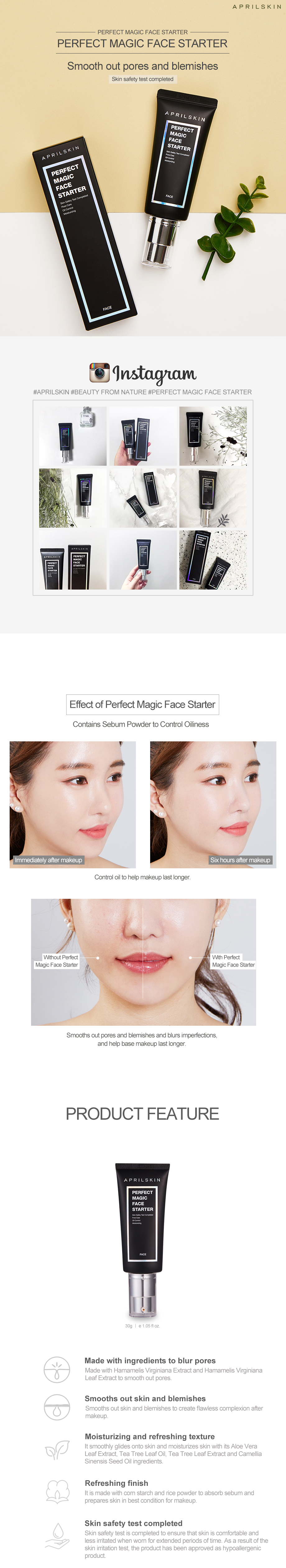 Perfect Magic Face Starter Aprilskin Awesomepouch
